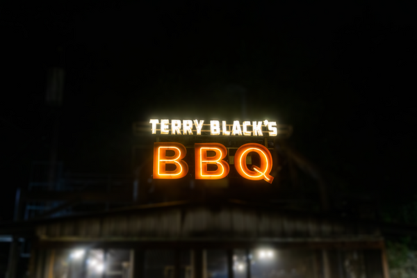 And so it begins... The first of many Terry Black's Barbecue blog post!!